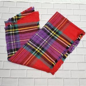 American Eagle plaid scarf. NWOT